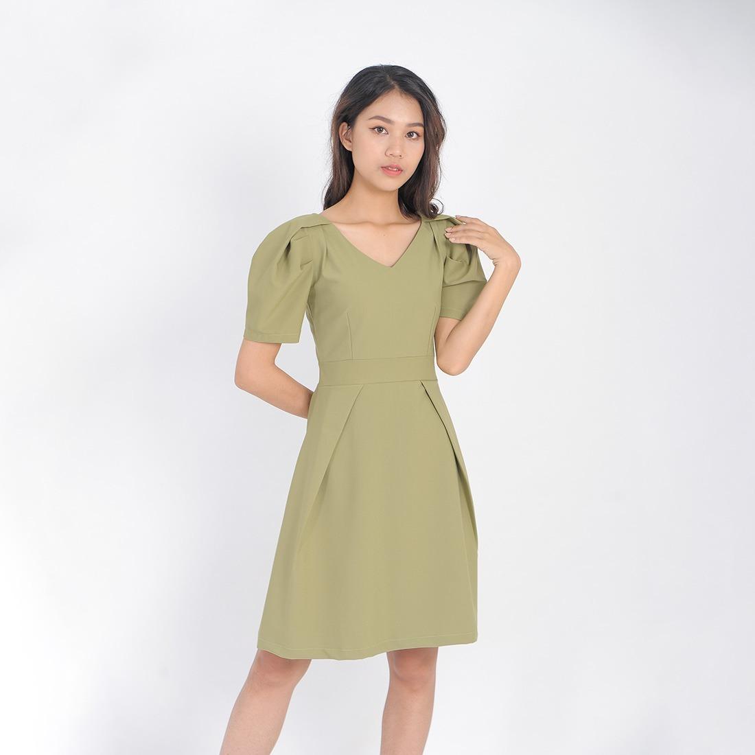 áo đầm đồng phục công sở