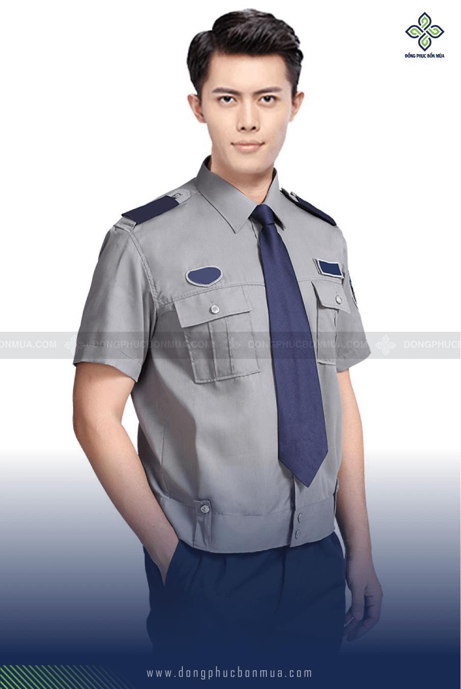 đồng phục bảo vệ may sẵn