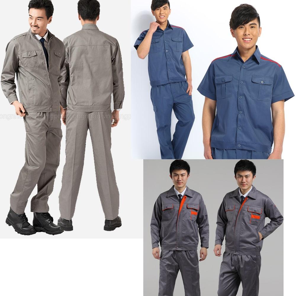 làm áo đồng phục công nhân