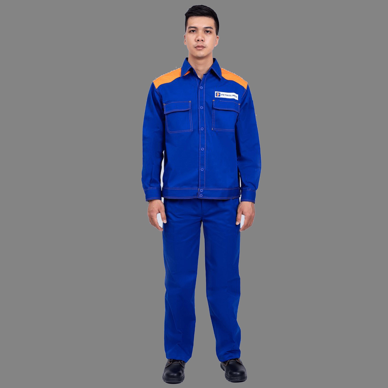 mẫu áo đồng phục công nhân