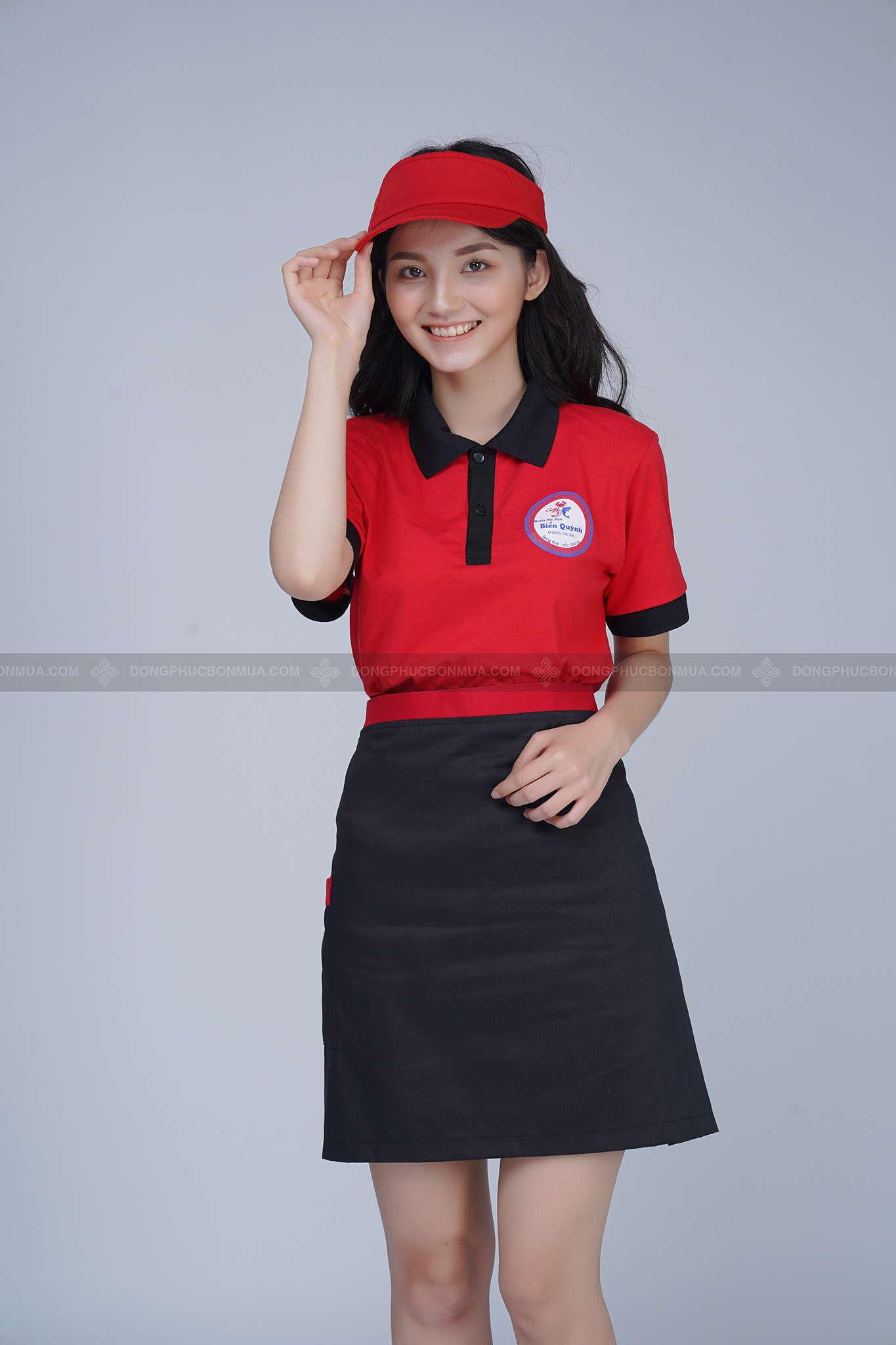áo đồng phục nhà hàng