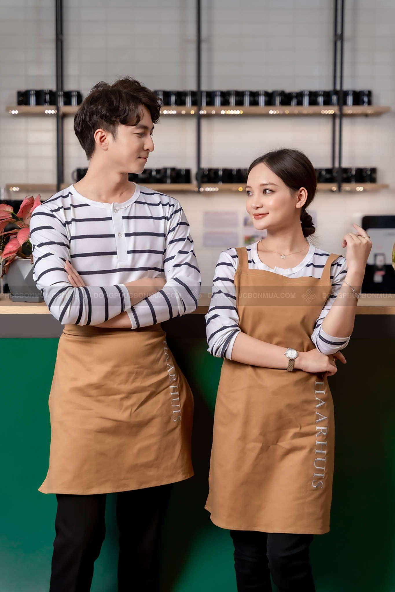 mẫu áo thun đồng phục nhà hàng
