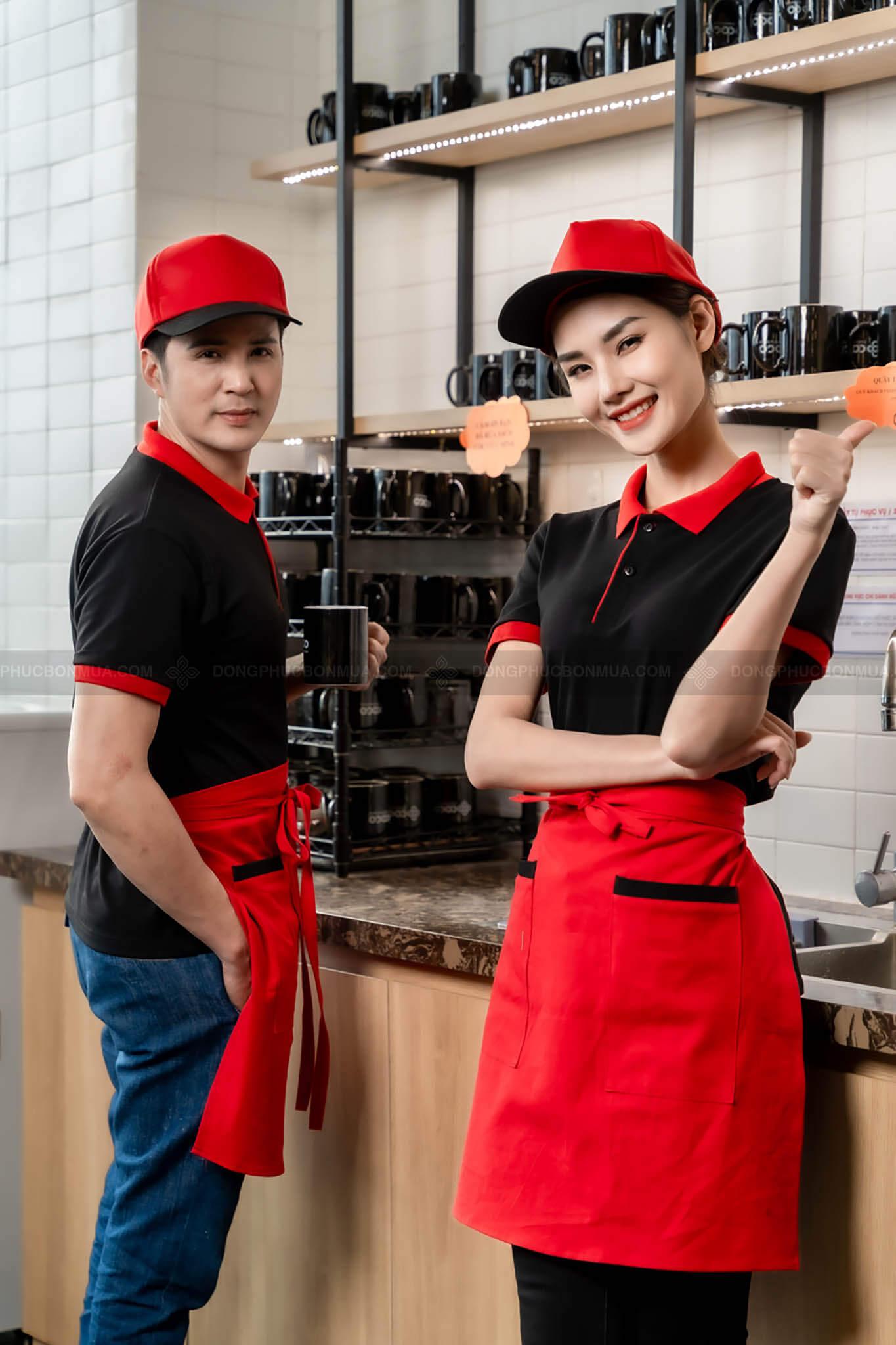 đồng phục nhân viên phục vụ