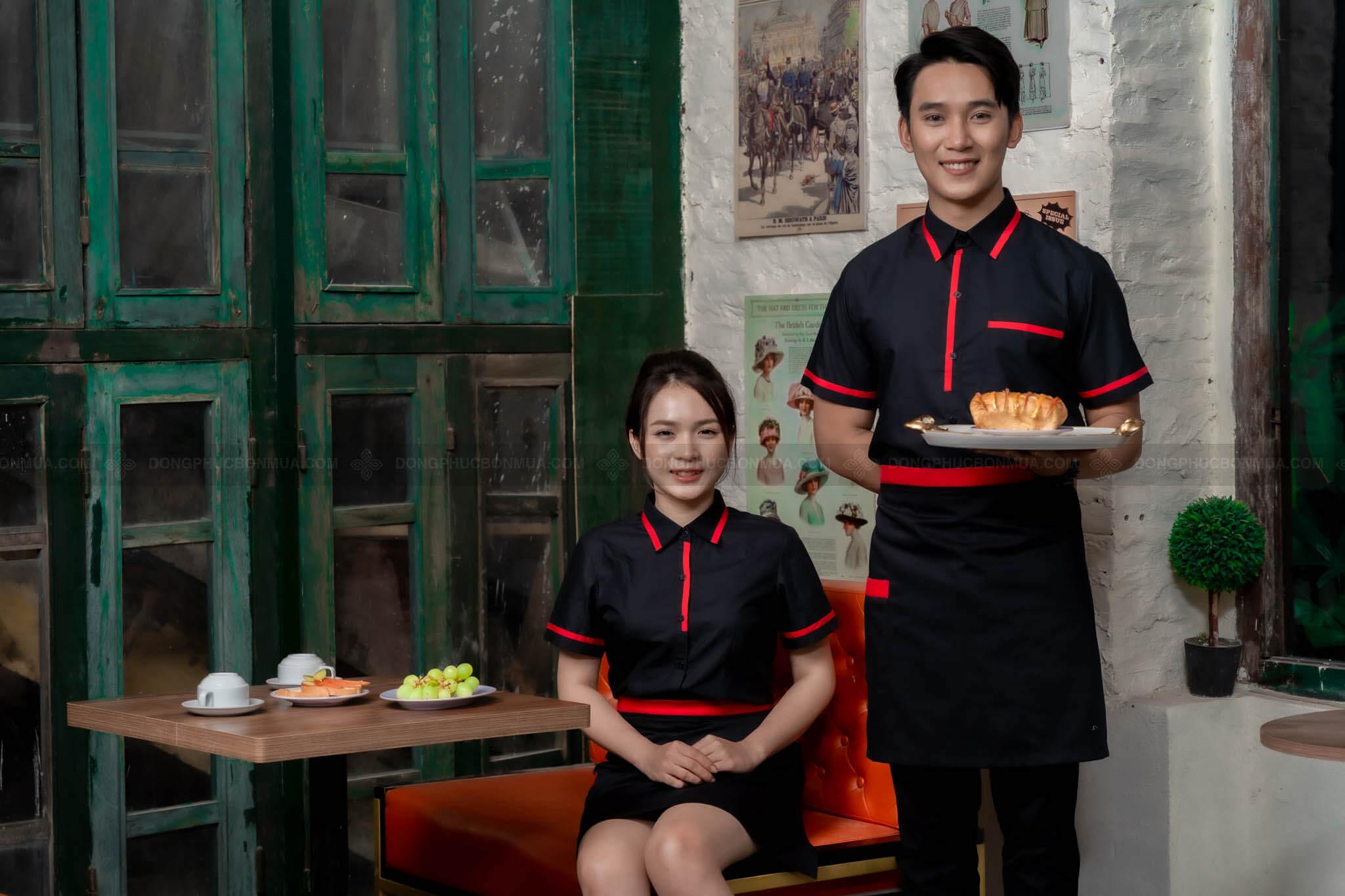 đồng phục nhân viên phục vụ khách sạn