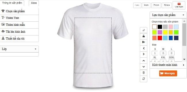 phần mềm thiết kế mẫu áo thun