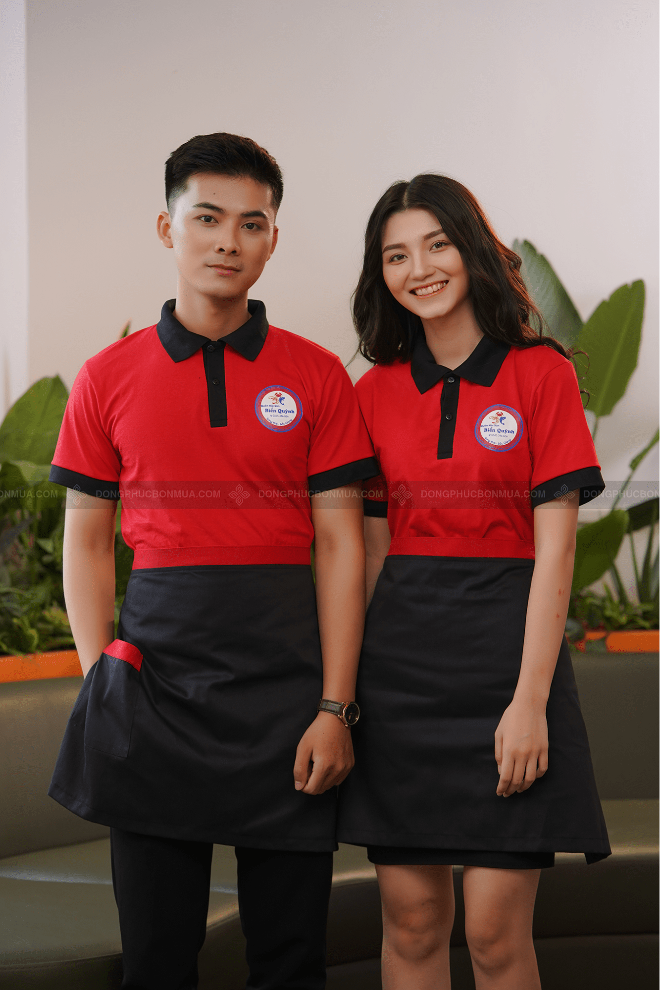 ý nghĩa màu sắc đồng phục nhà hàng