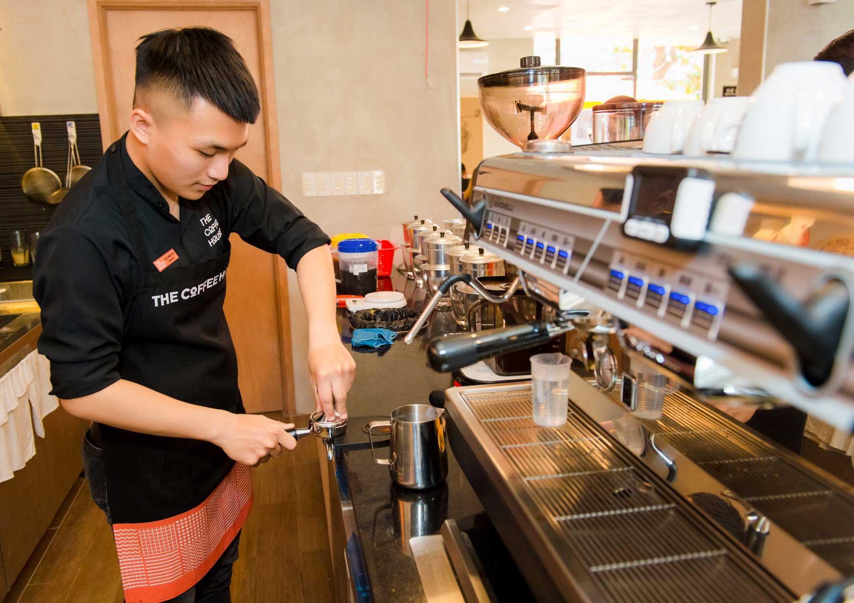 Đồng phục The Coffee House chuyên nghiệp