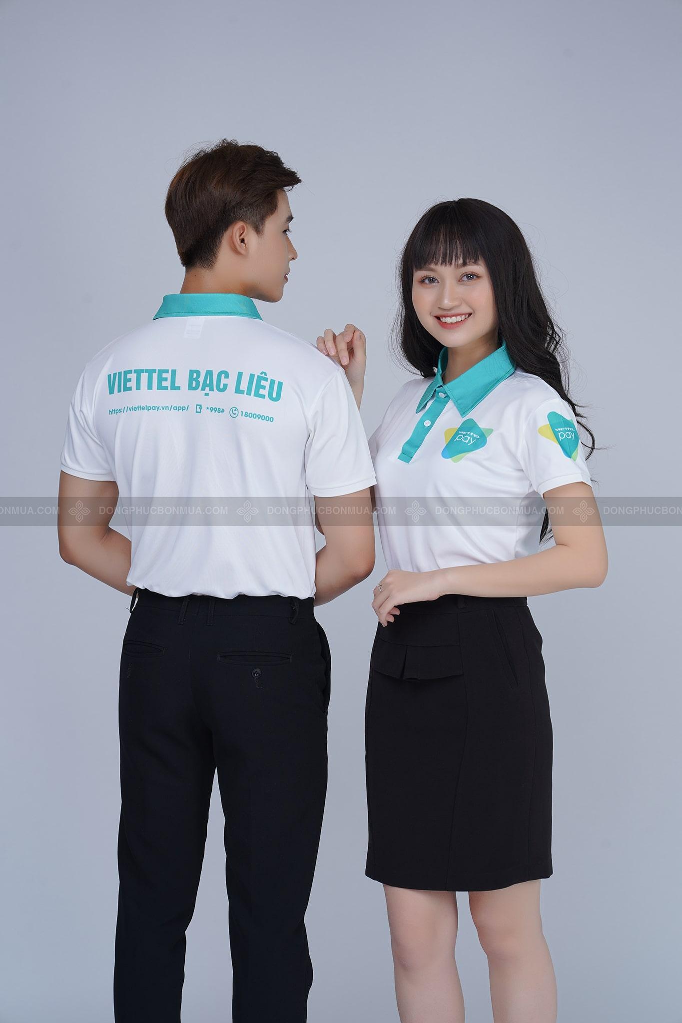 In áo thun đồng phục theo yêu cầu