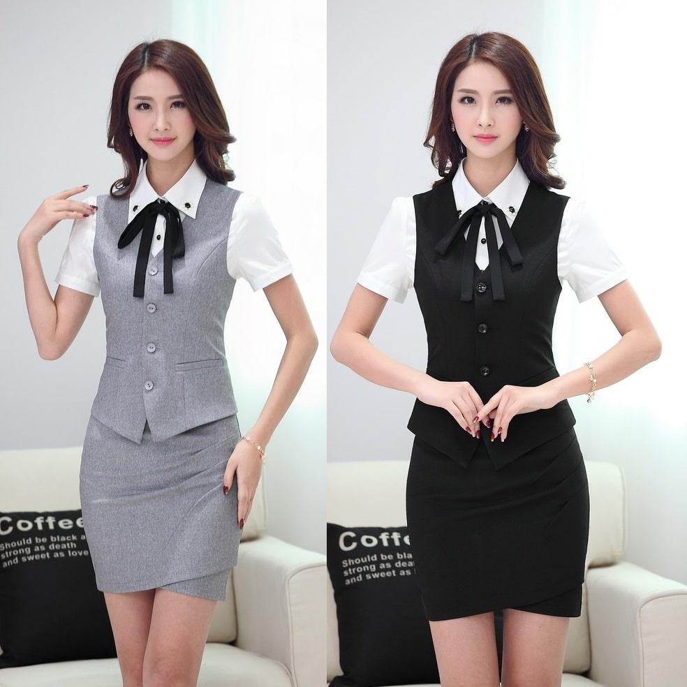 áo ghi lê nữ công sở đẹp