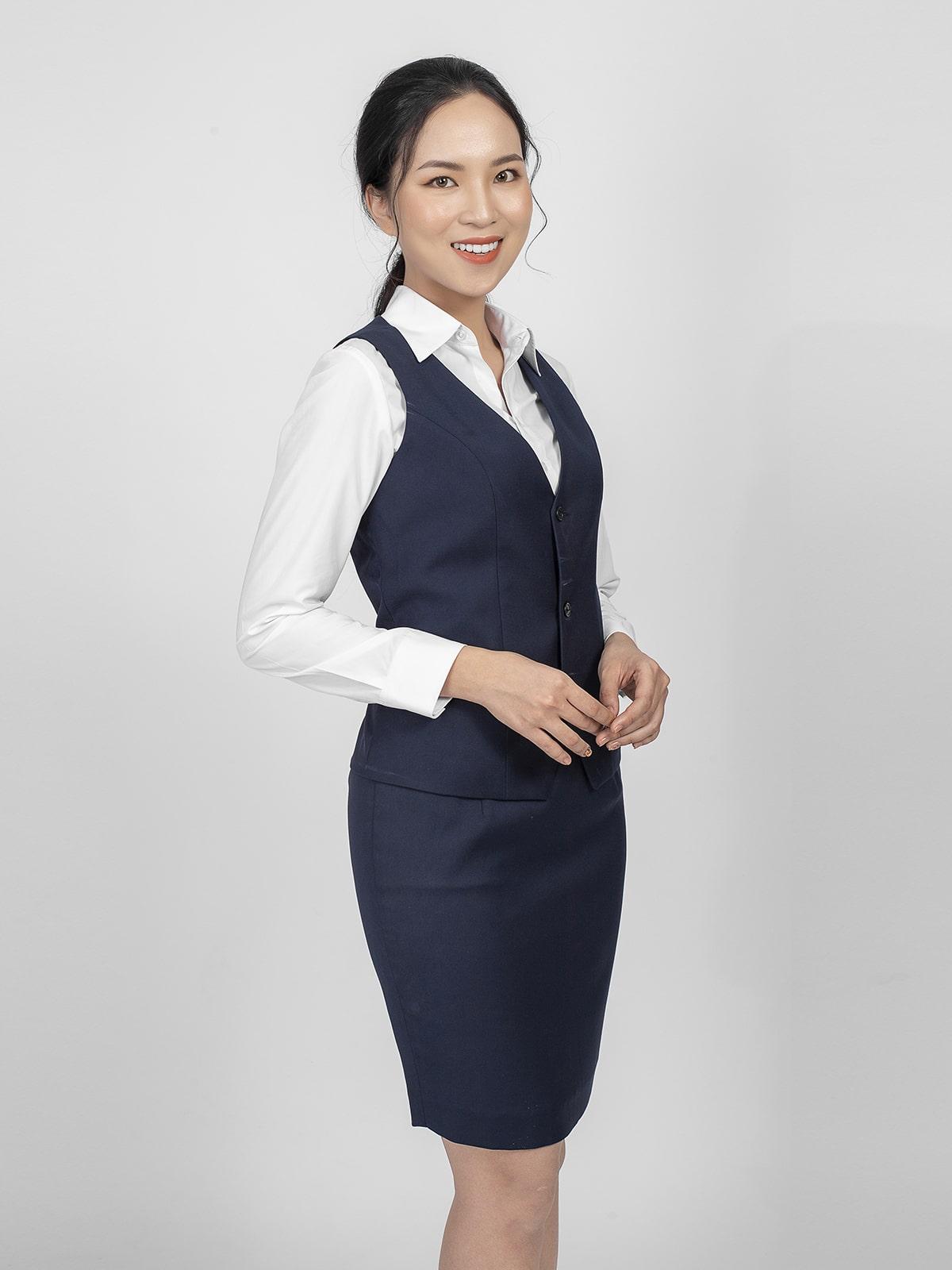 áo gile nữ công sở đẹp
