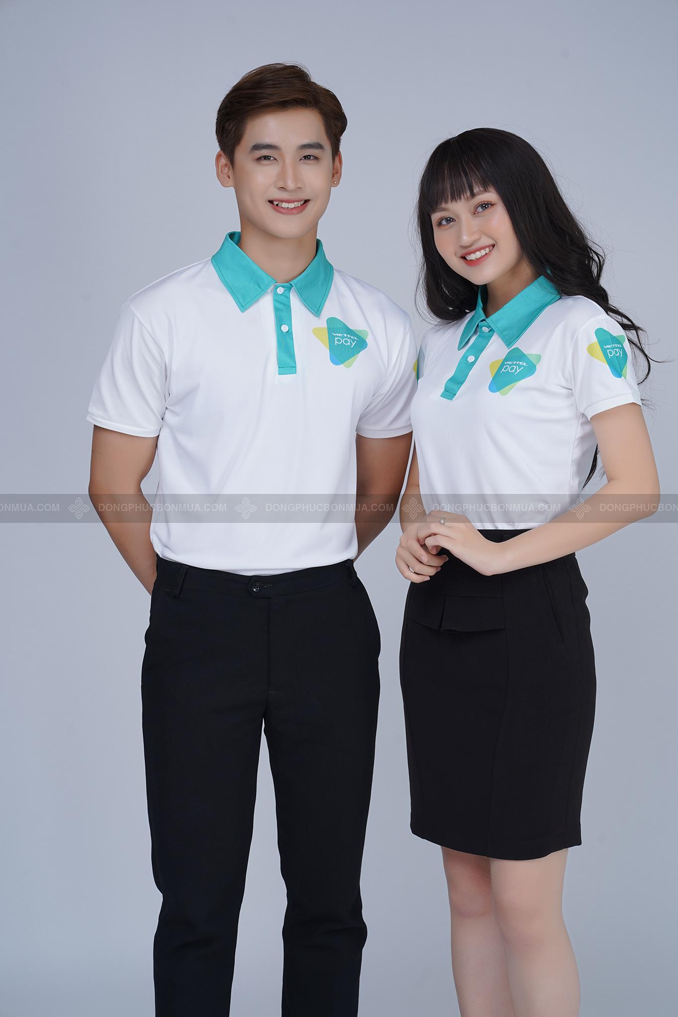 áo phông cá sấu đồng phục