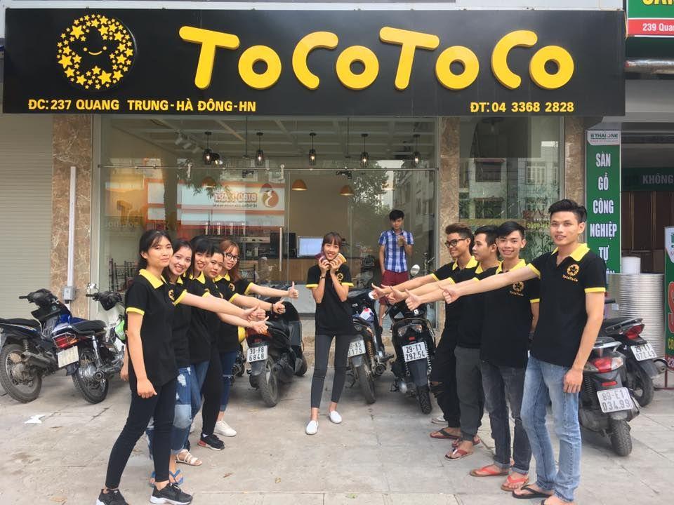 Đồng phục nhân viên Tocotoco