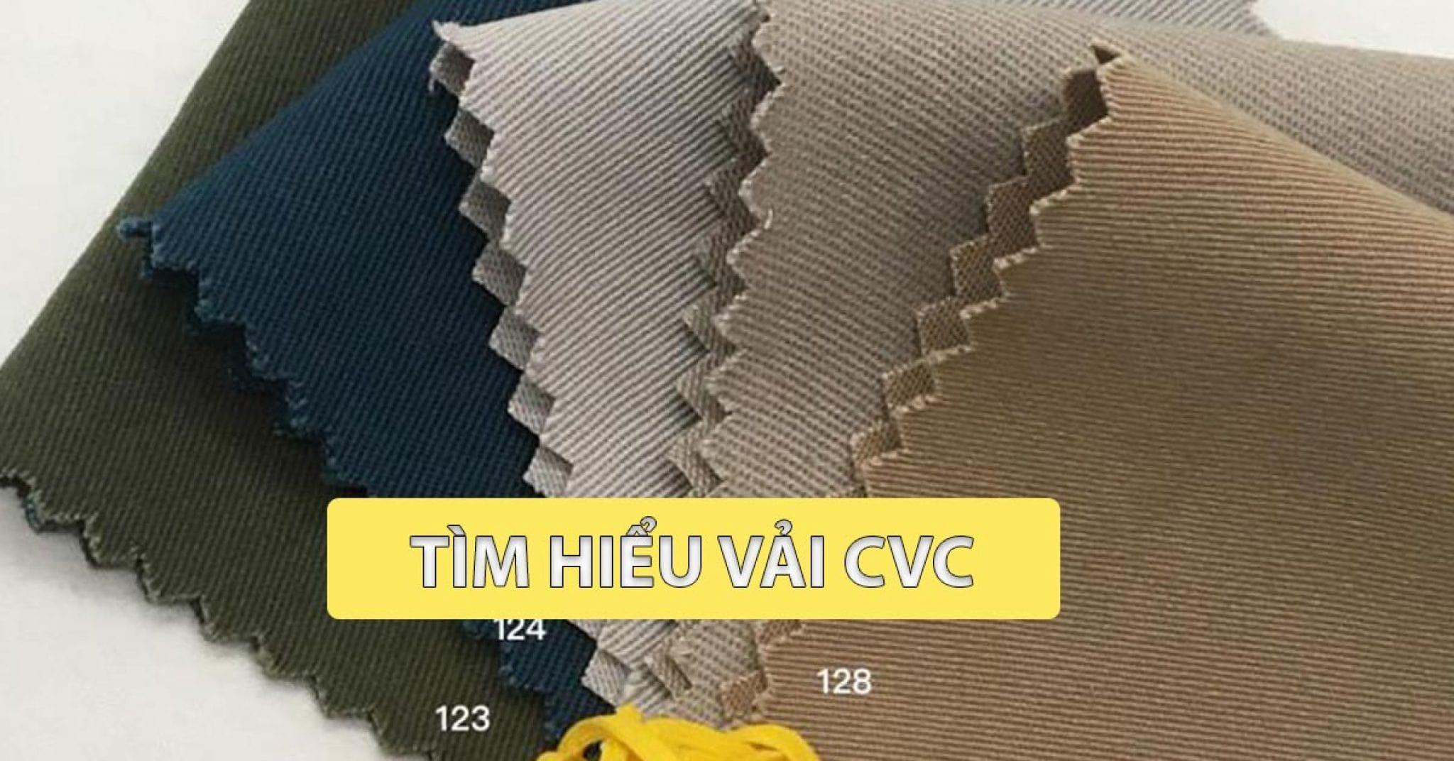 Vải CVC là gì