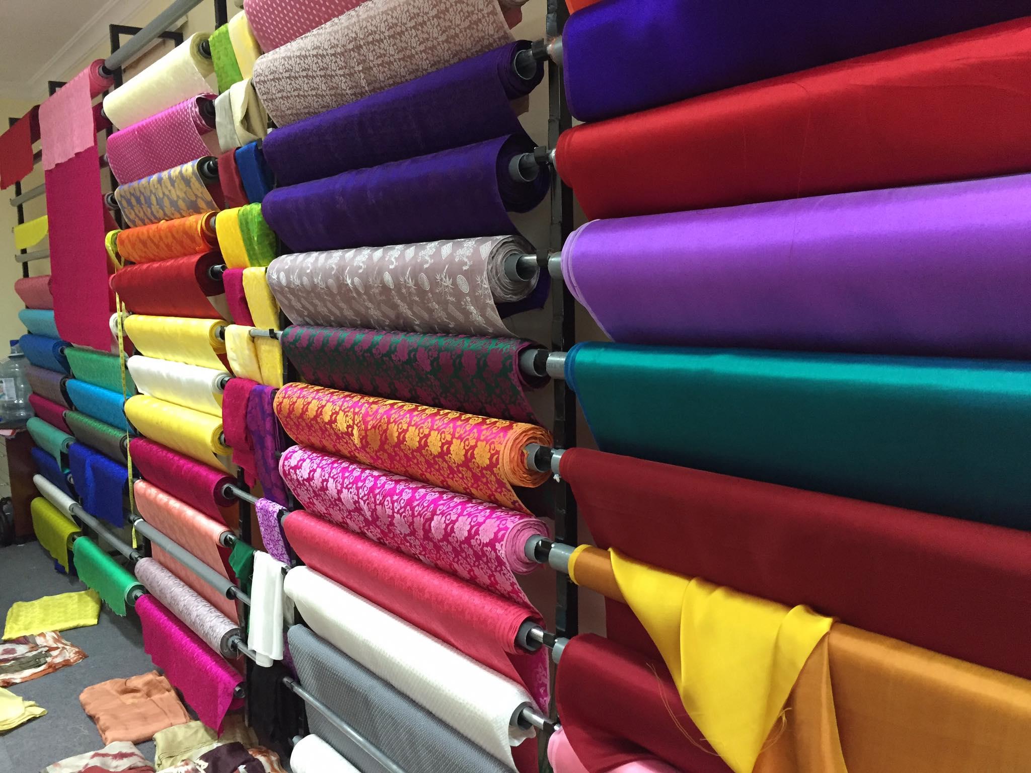 vải lụa cotton