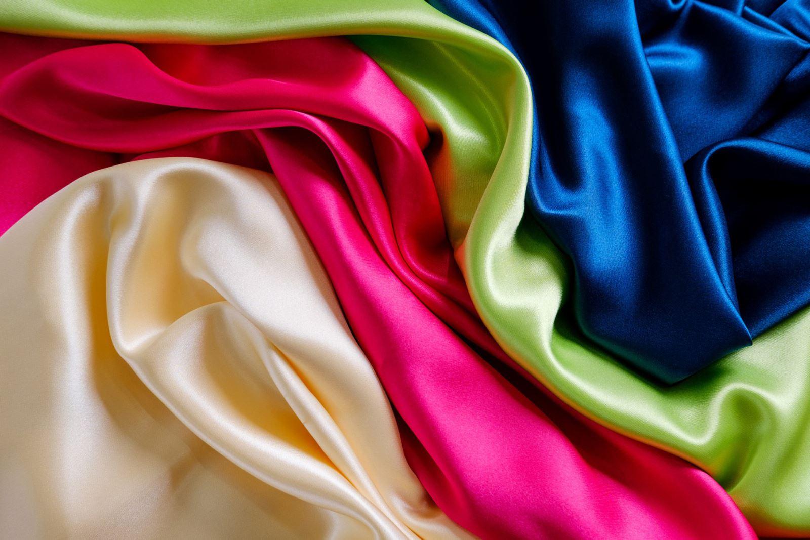 vải lụa trơn